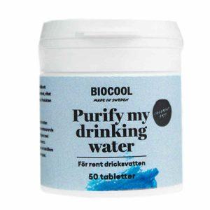 Biocool natriumperkarbonat vattenreningstabletter 50 st