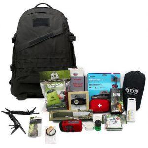 Färdigpackad Bug Out Bag för vildmarken