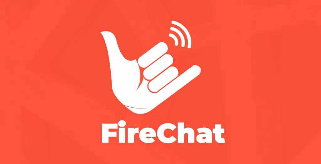 FireChat - chatta utan Internet