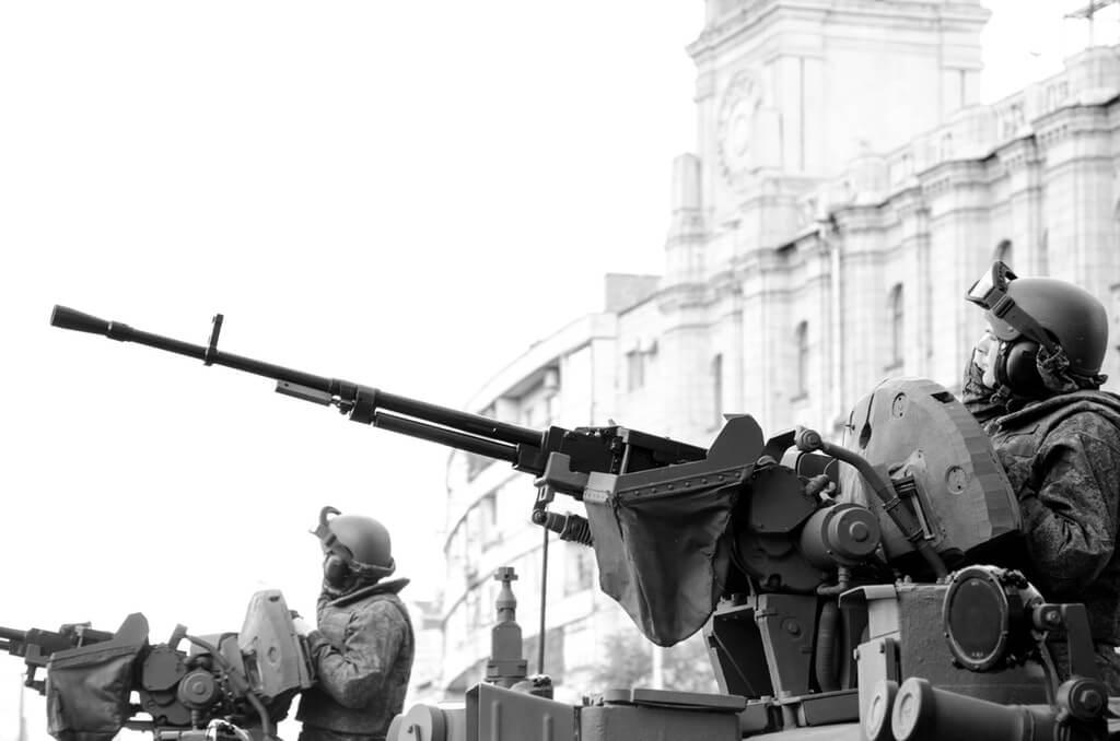 Krig i stad