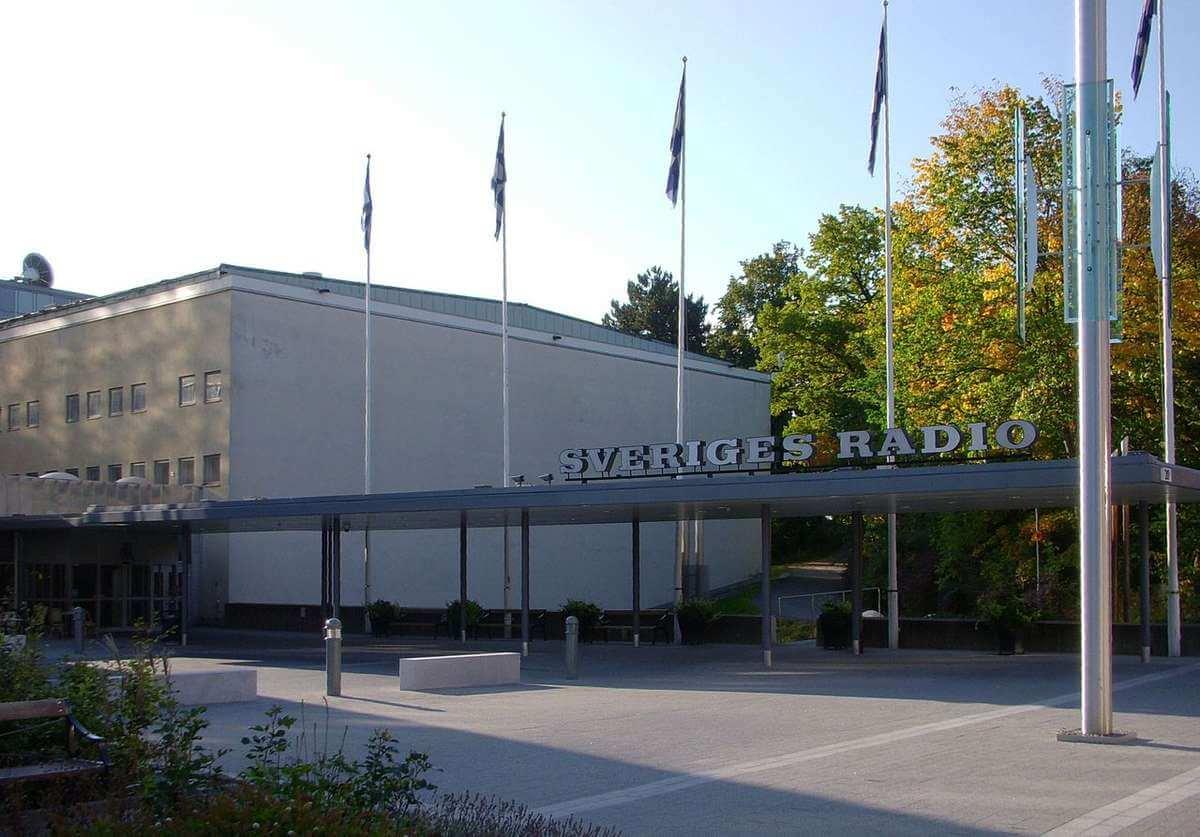 Sveriges Radio byggnad i Stockholm