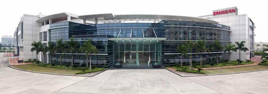 Sangean radiofabrik