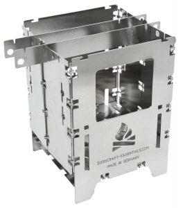 Bushcraft Essentials Bushbox LF hobo stove