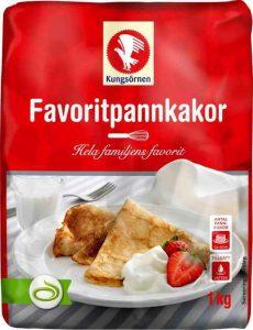 Pannkaksmix - praktiskt även under vandring