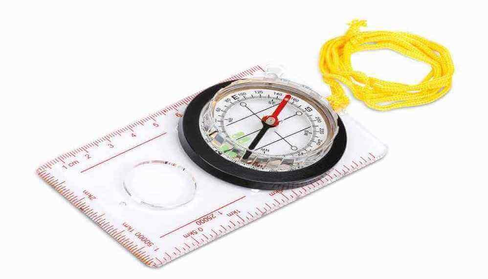 Linjalkompass
